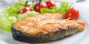 Diabetes Recipes – Salmon with Roasted Cherry Tomatoes | Learn To ...